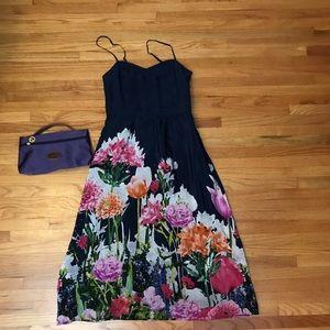 Anthropologie Moulinette Soria's Floral Dress